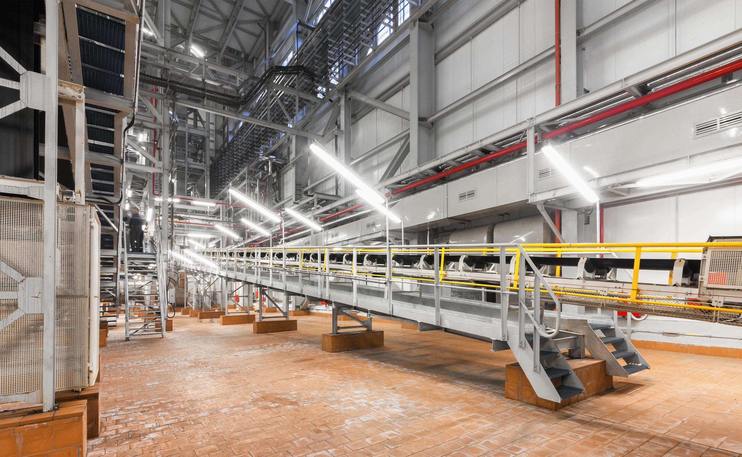 Photographie usine maintenance dépannage et réparation MRPAC